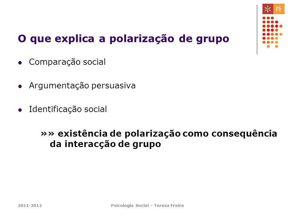 O que explica a polarização de grupo