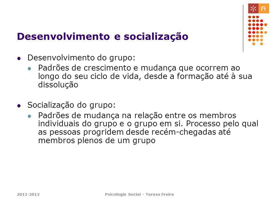 Desenvolvimento e socialização