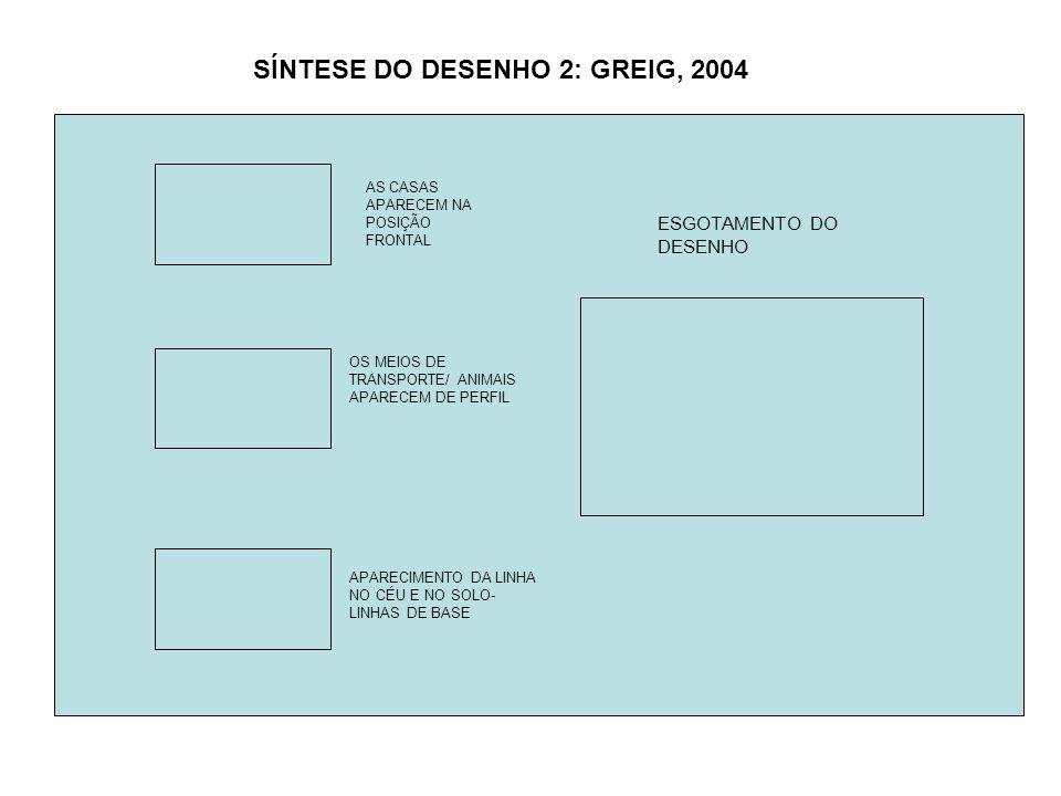 SÍNTESE DO DESENHO 2: GREIG, 2004