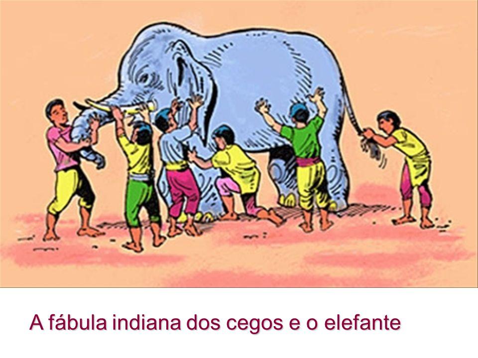 A fábula indiana dos cegos e o elefante