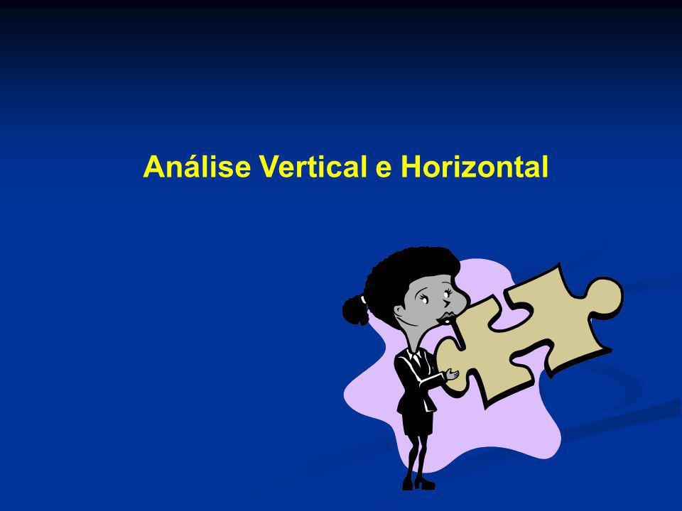 Análise Vertical e Horizontal
