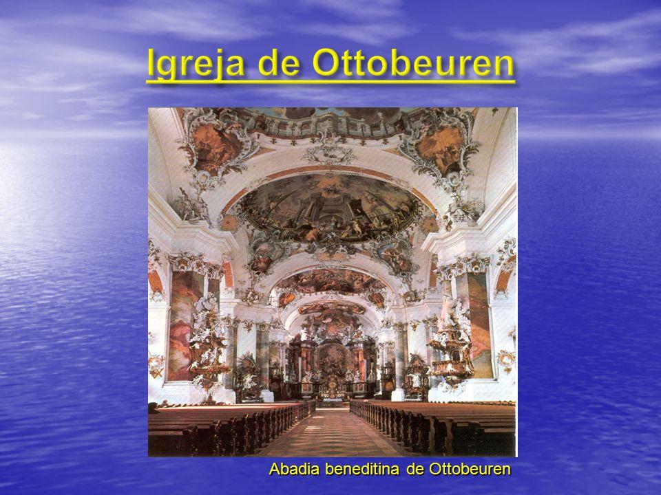 Igreja de Ottobeuren Abadia beneditina de Ottobeuren