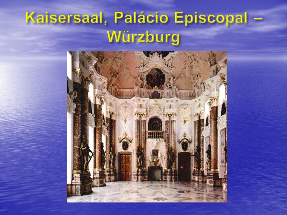 Kaisersaal, Palácio Episcopal – Würzburg