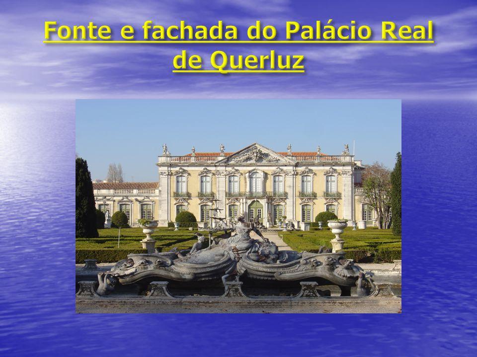 Fonte e fachada do Palácio Real de Querluz