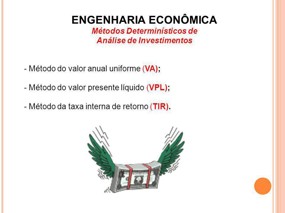 Métodos Determinísticos de Análise de Investimentos