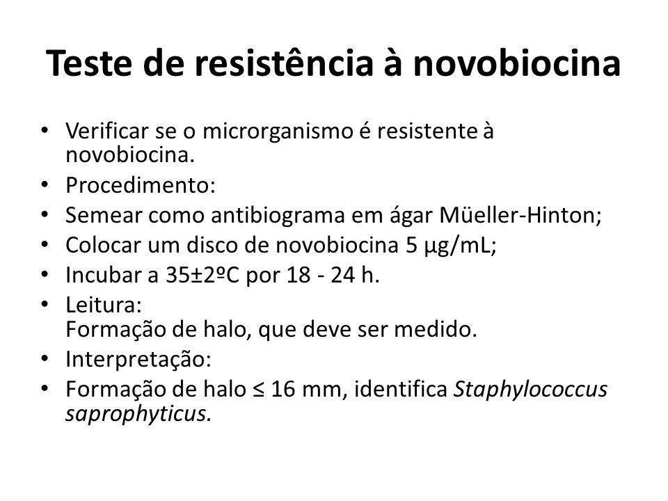 Teste de resistência à novobiocina