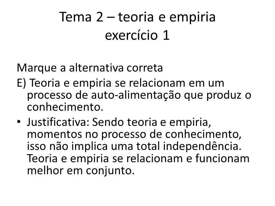 Tema 2 – teoria e empiria exercício 1