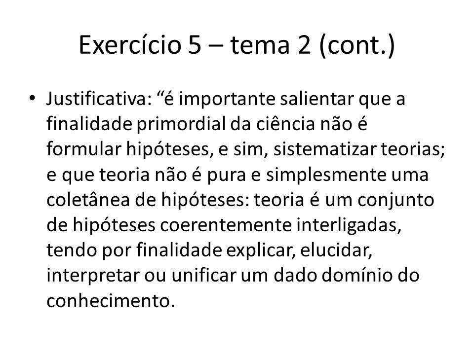 Exercício 5 – tema 2 (cont.)