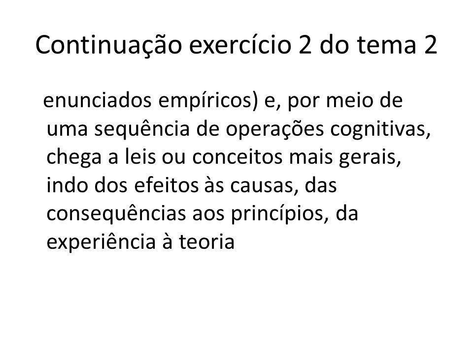 Continuação exercício 2 do tema 2