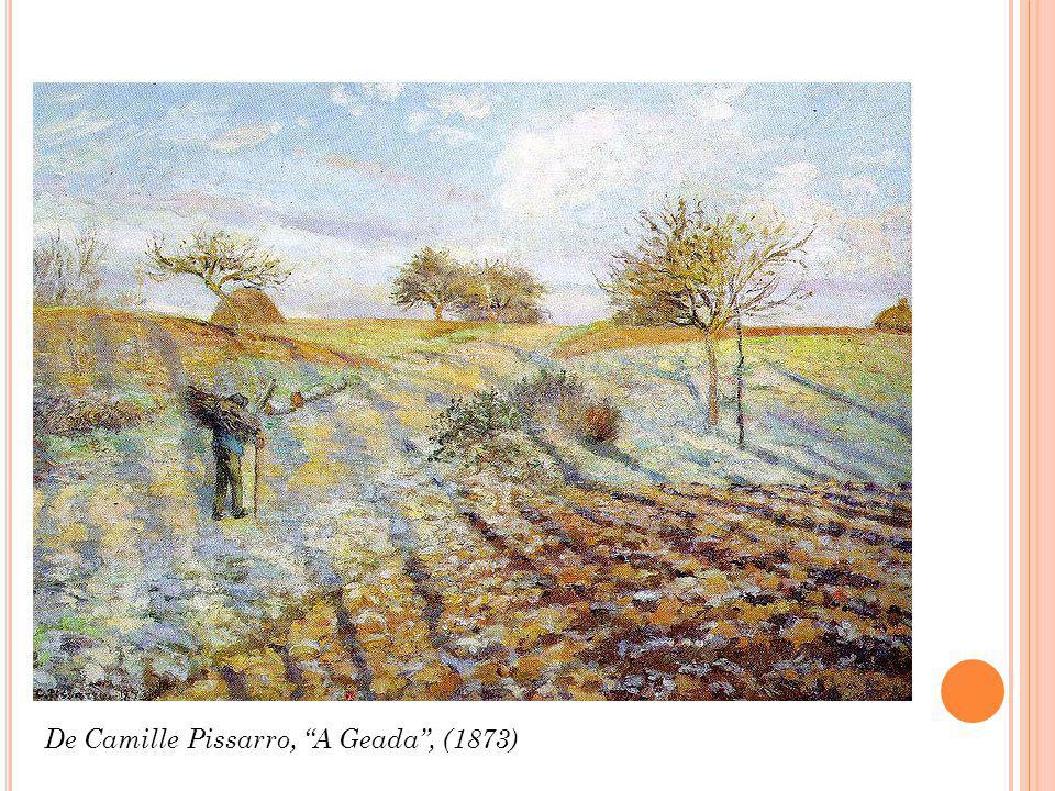 De Camille Pissarro, A Geada , (1873)