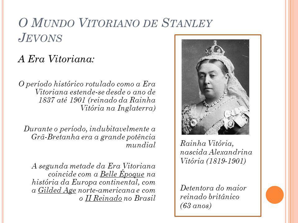 O Mundo Vitoriano de Stanley Jevons