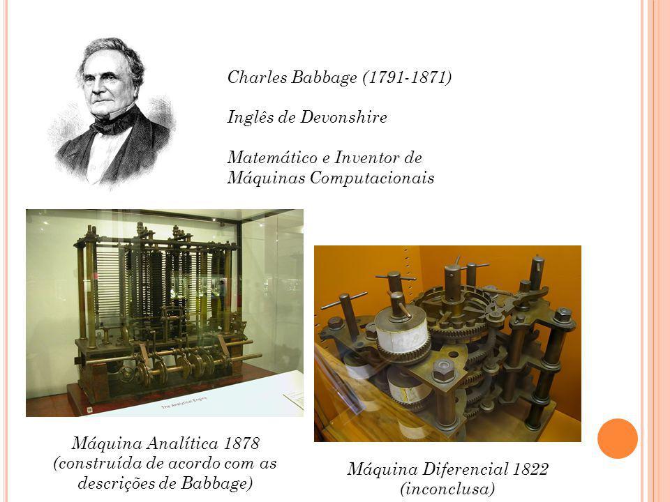 Máquina Diferencial 1822 (inconclusa)