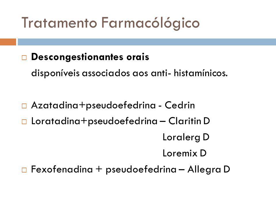 Tratamento Farmacólógico