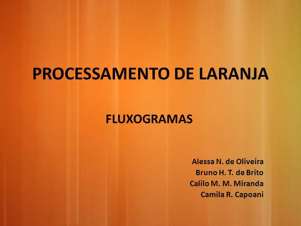 PROCESSAMENTO DE LARANJA
