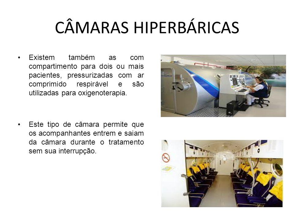 CÂMARAS HIPERBÁRICAS