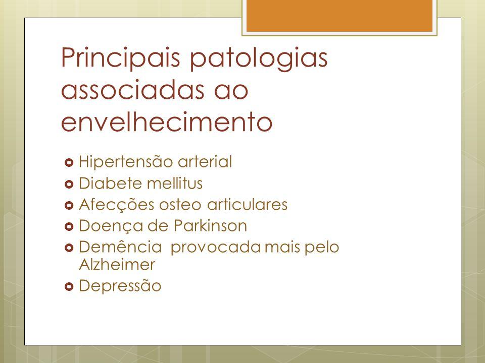Principais patologias associadas ao envelhecimento