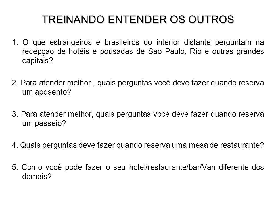 TREINANDO ENTENDER OS OUTROS
