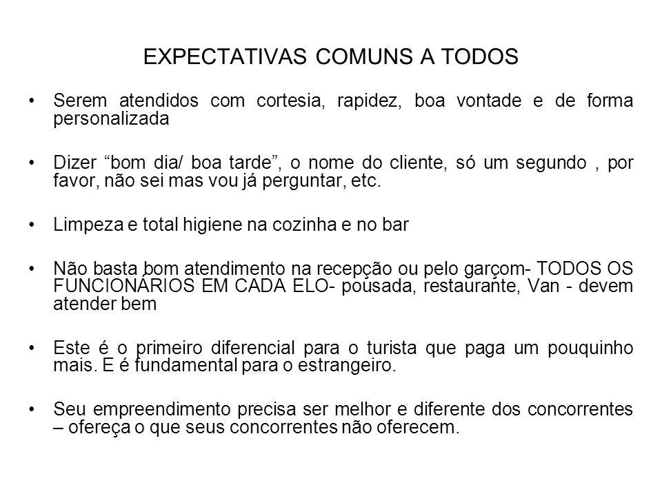 EXPECTATIVAS COMUNS A TODOS