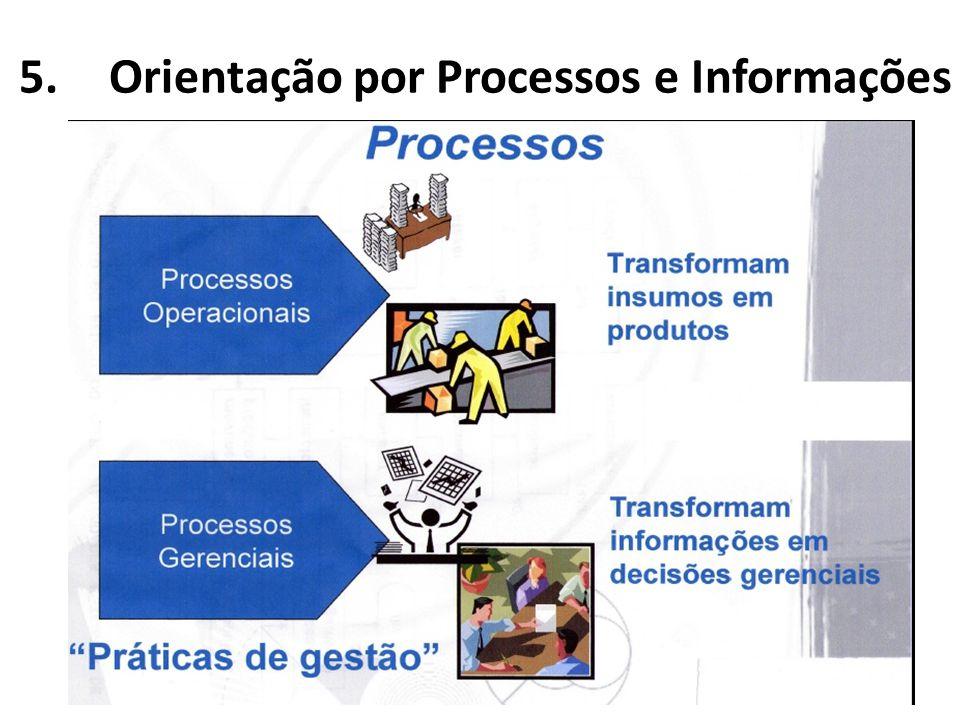 Orientação por Processos e Informações