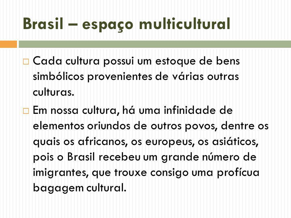Brasil – espaço multicultural