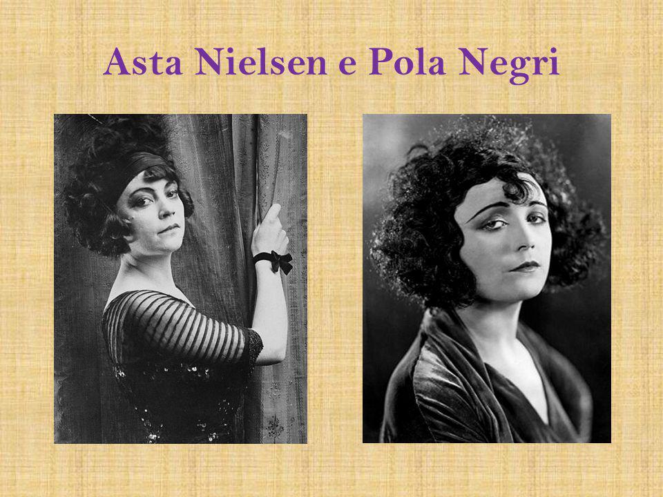 Asta Nielsen e Pola Negri