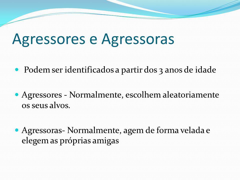 Agressores e Agressoras