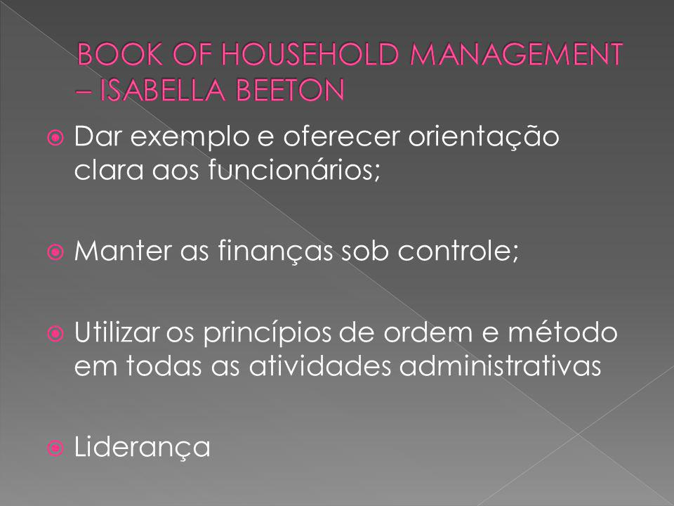 BOOK OF HOUSEHOLD MANAGEMENT – ISABELLA BEETON