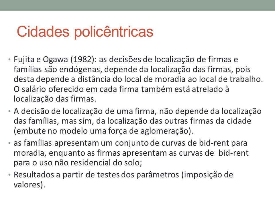 Cidades policêntricas