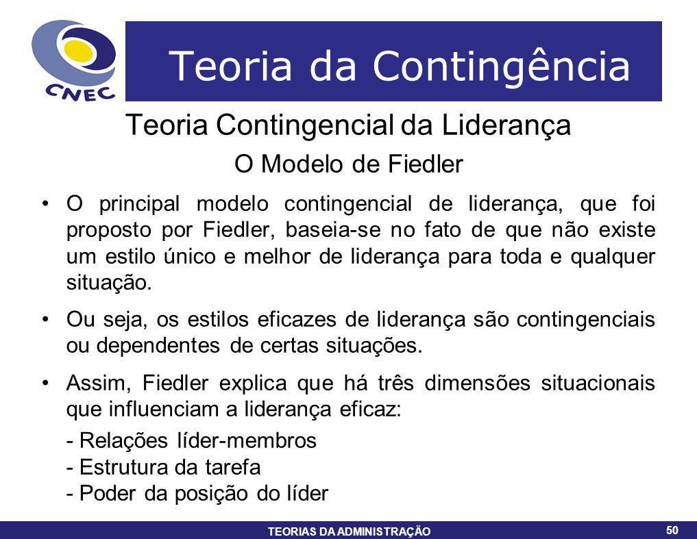 Teoria da Contingência