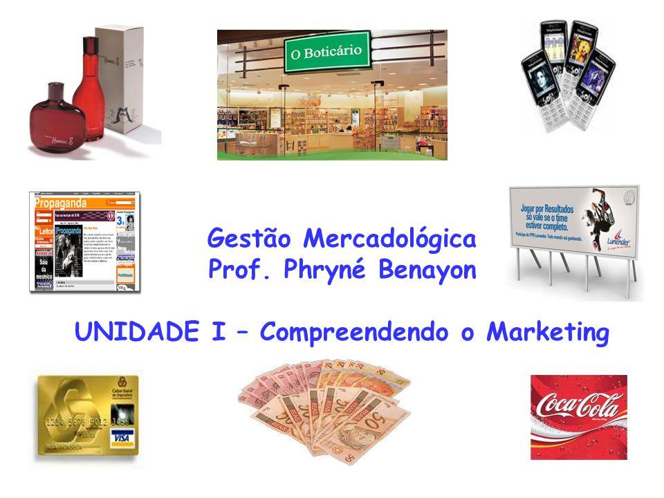 Gestão Mercadológica Prof