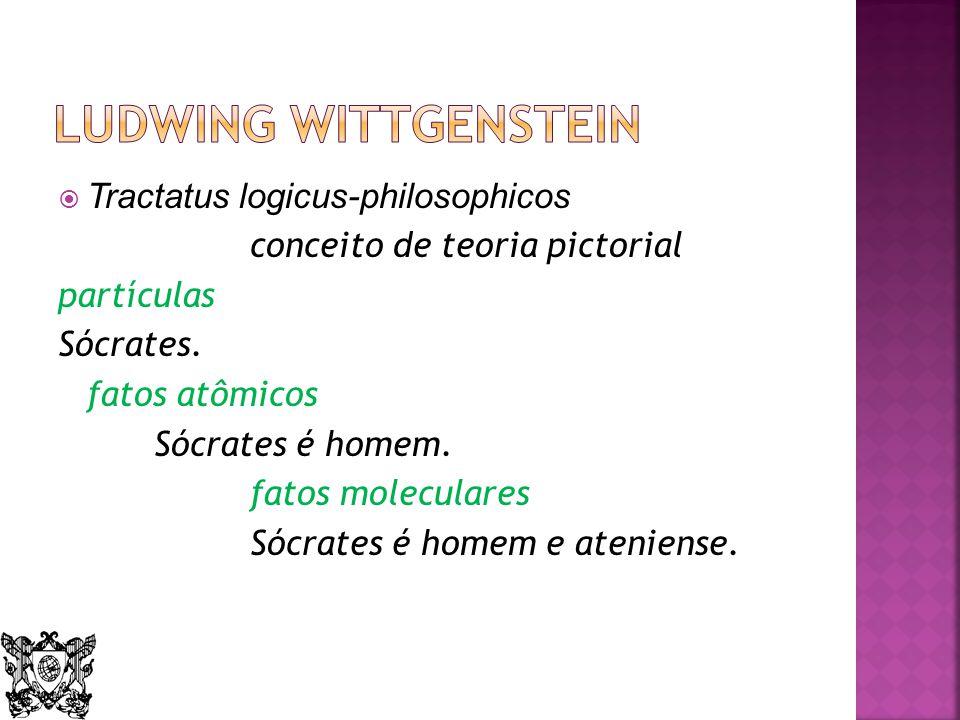 Ludwing Wittgenstein Tractatus logicus-philosophicos