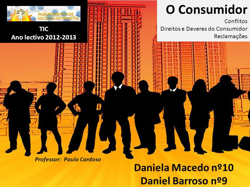Daniela Macedo nº10 Daniel Barroso nº9
