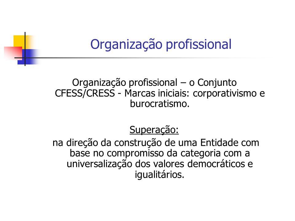 Organização profissional