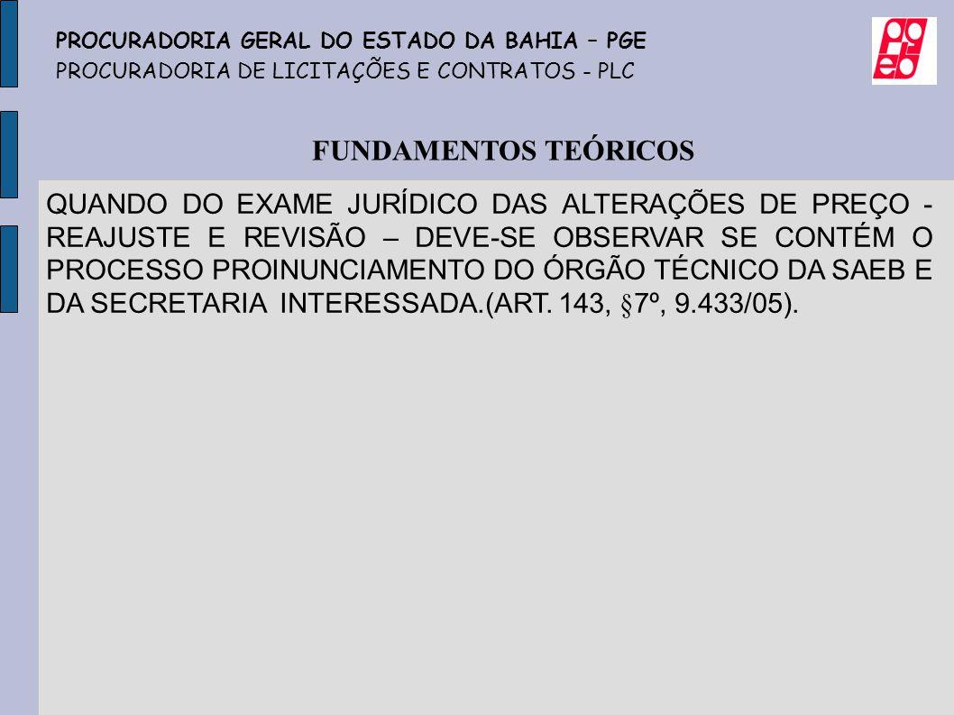 PROCURADORIA GERAL DO ESTADO DA BAHIA – PGE
