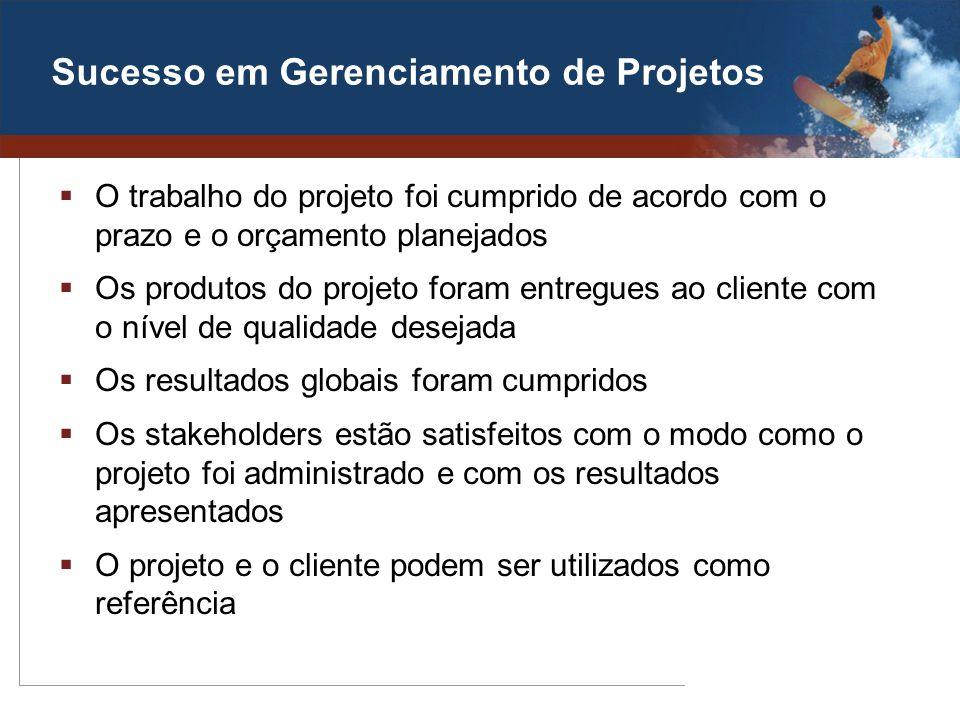 Sucesso em Gerenciamento de Projetos
