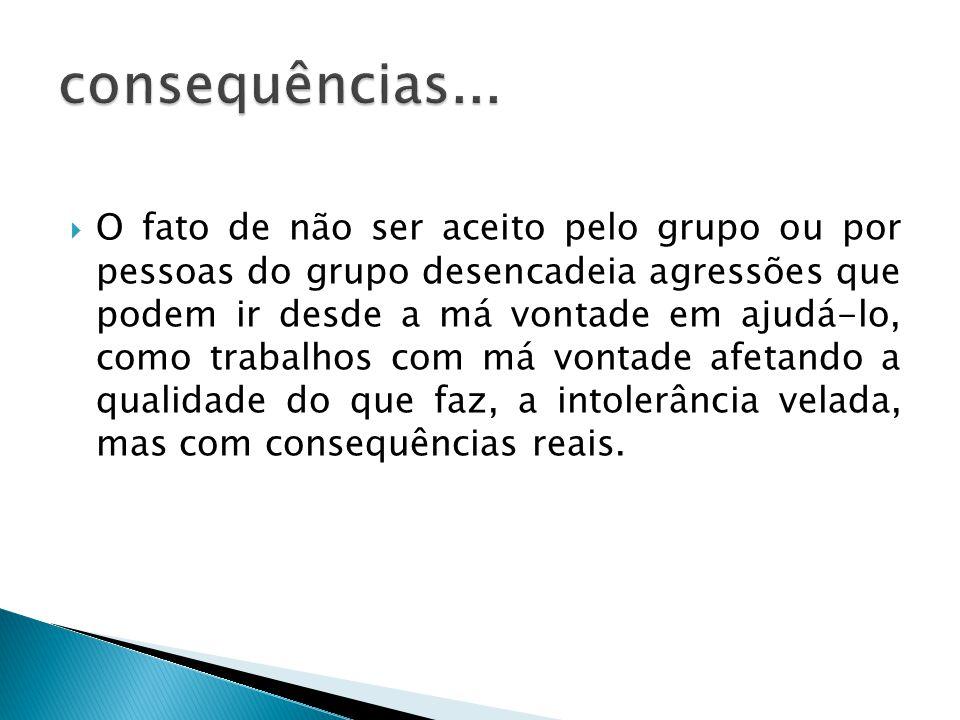 consequências...