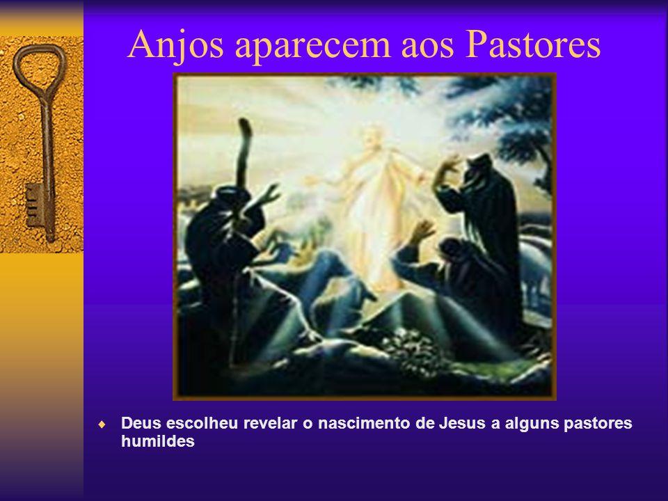 Anjos aparecem aos Pastores