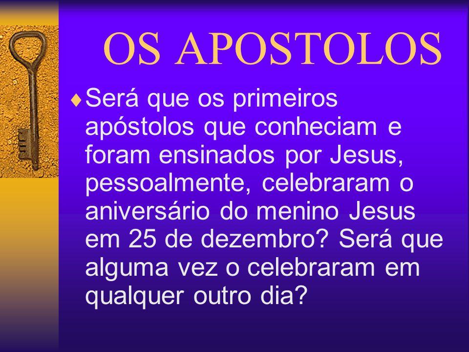 OS APOSTOLOS