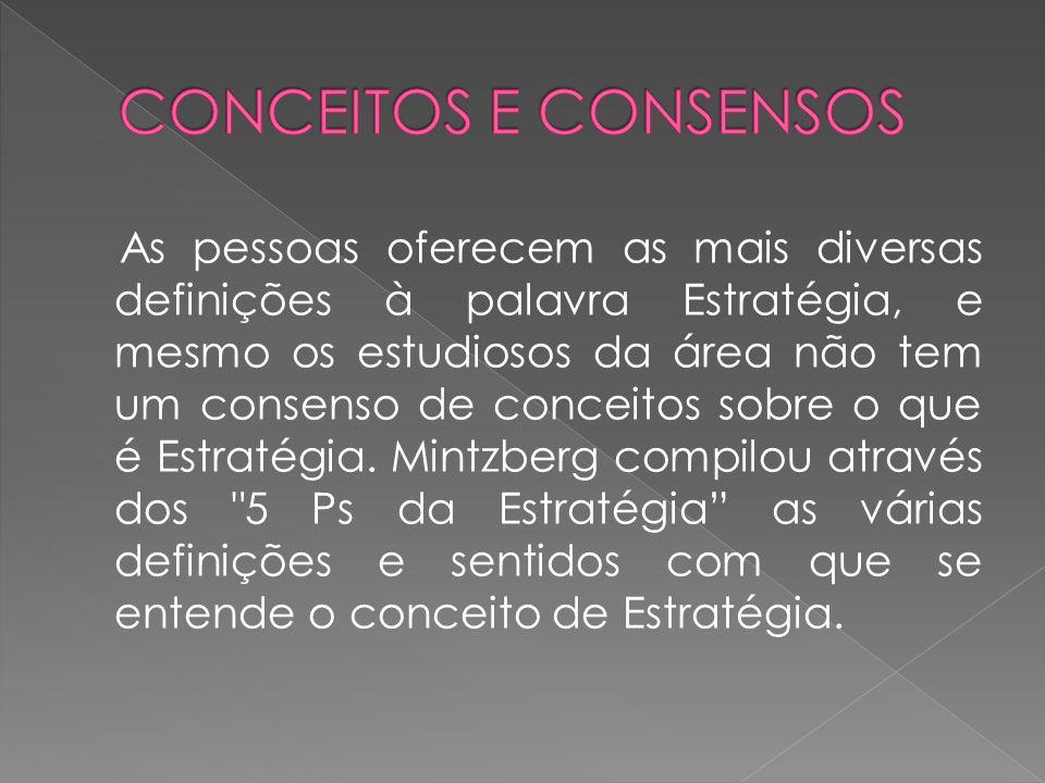 CONCEITOS E CONSENSOS