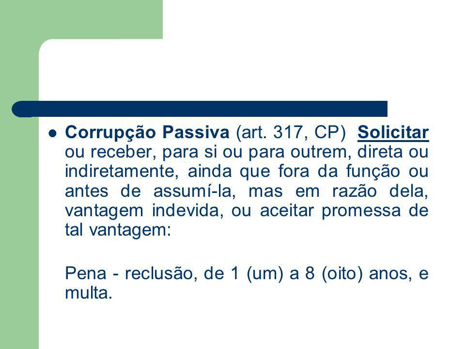 Corrupção Passiva (art