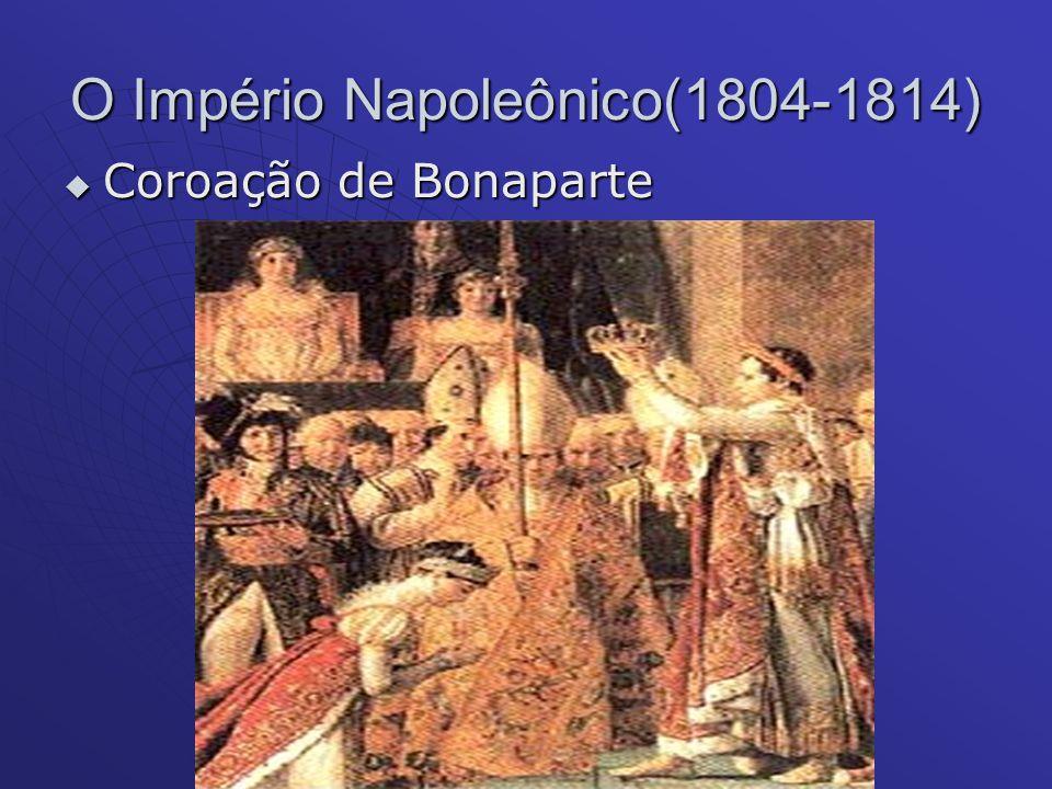 O Império Napoleônico(1804-1814)