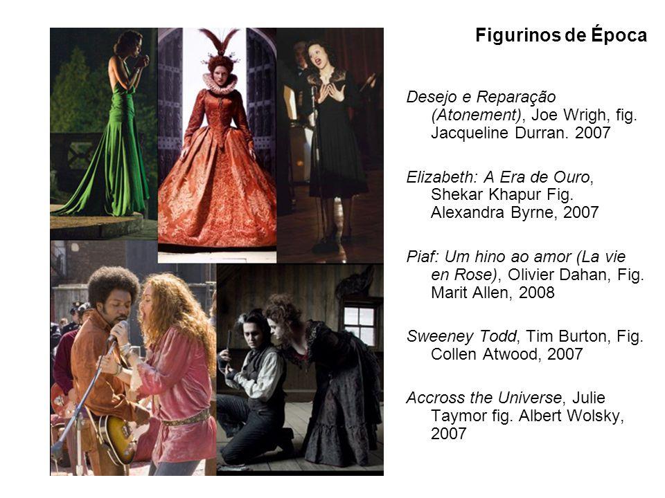 Figurinos de Época Desejo e Reparação (Atonement), Joe Wrigh, fig. Jacqueline Durran. 2007.