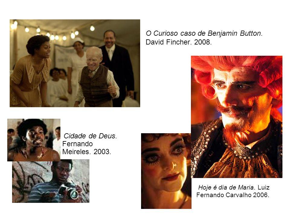 O Curioso caso de Benjamin Button. David Fincher. 2008.