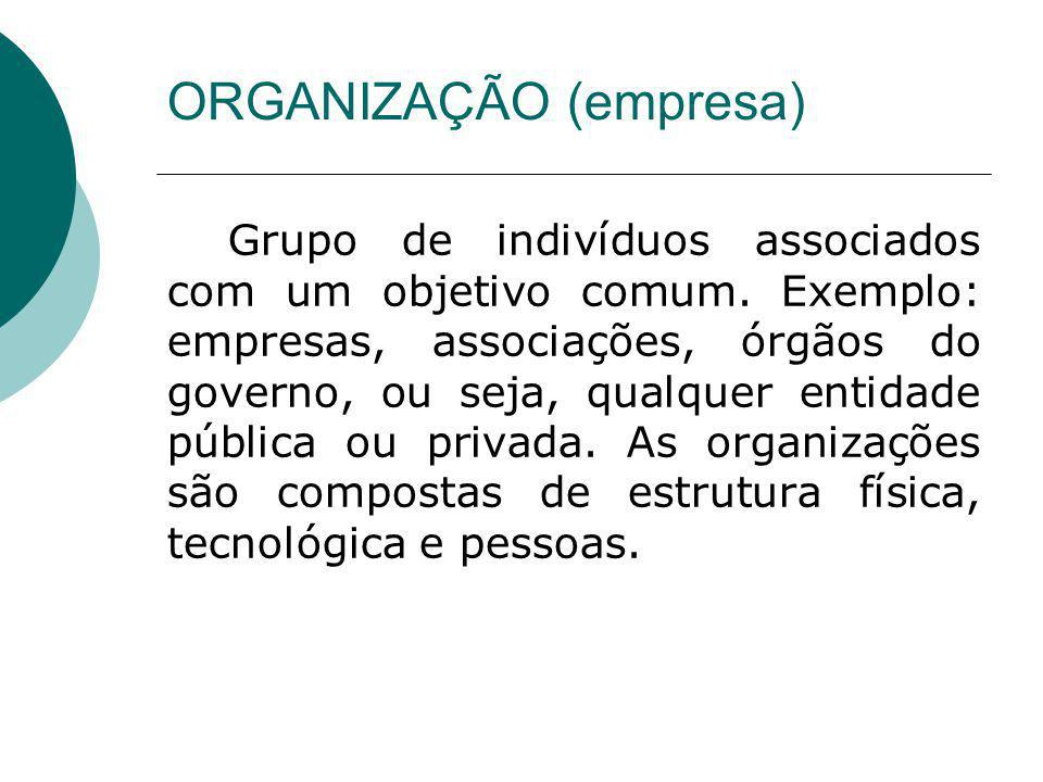 ORGANIZAÇÃO (empresa)