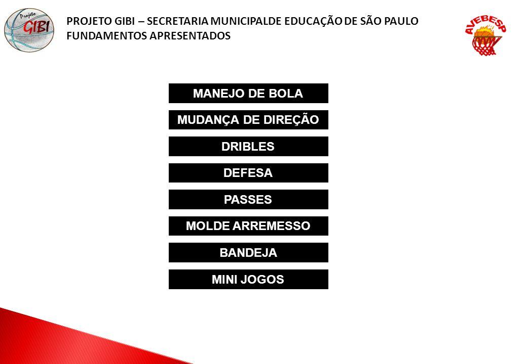 PROJETO GIBI – SECRETARIA MUNICIPALDE EDUCAÇÃO DE SÃO PAULO