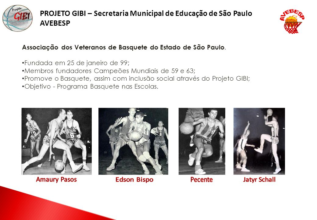 PROJETO GIBI – Secretaria Municipal de Educação de São Paulo
