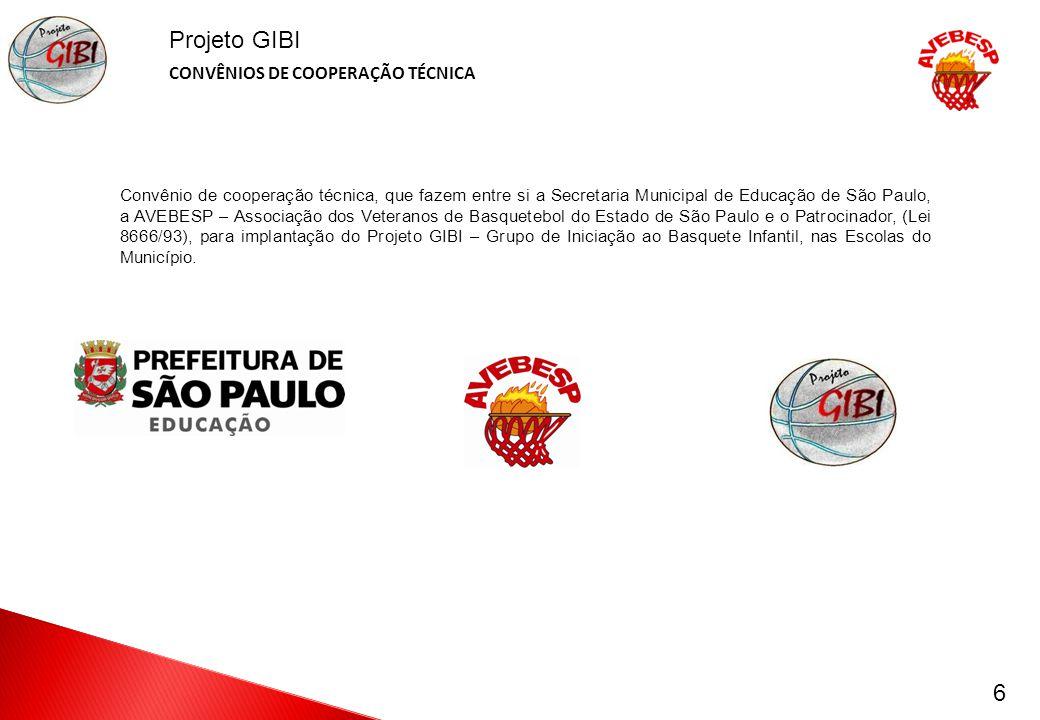 Projeto GIBI CONVÊNIOS DE COOPERAÇÃO TÉCNICA