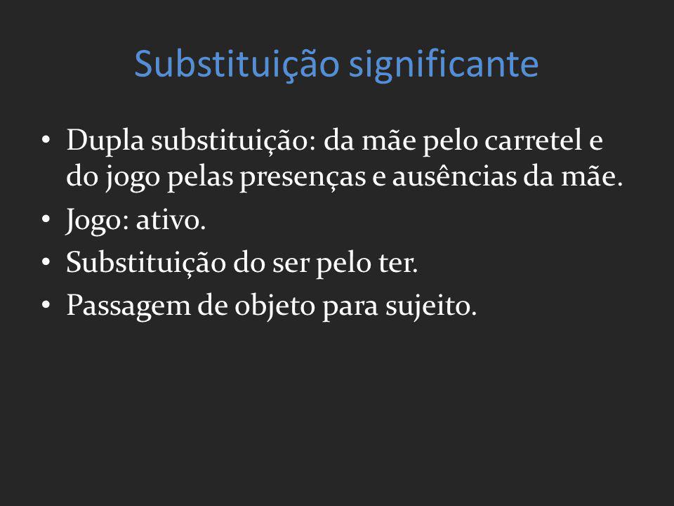 Substituição significante
