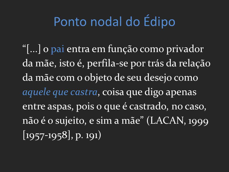 Ponto nodal do Édipo