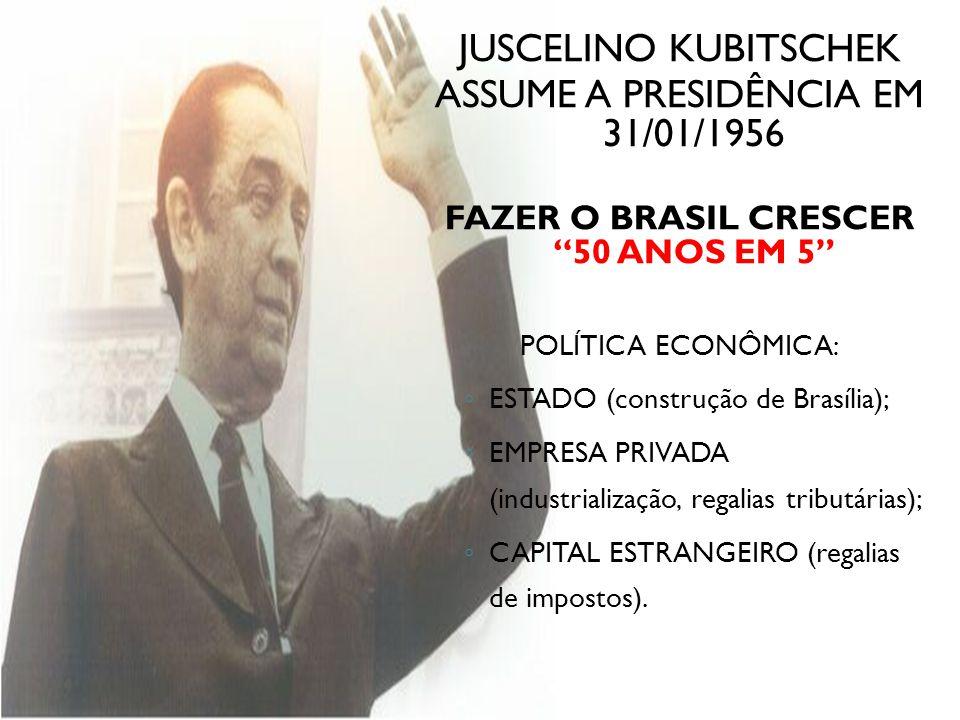 FAZER O BRASIL CRESCER 50 ANOS EM 5